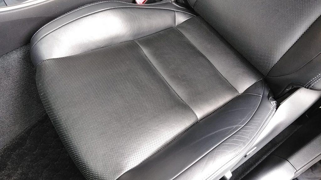 レクサス IS250 レザーシートの汚れ補修