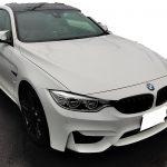 BMW M6 本革シートの擦れ補修