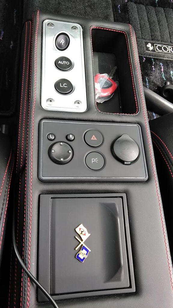 フェラーリ F430 内装パーツの塗装ベタツキ補修