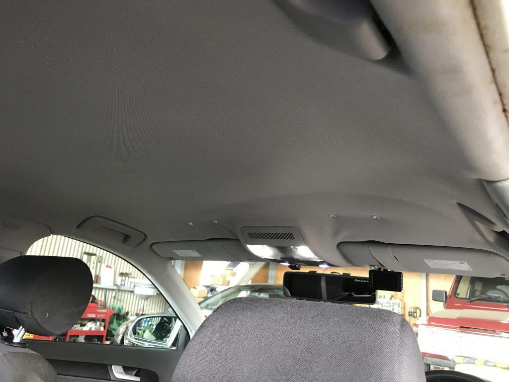Audi A3 ルーフライニング(天井)張替