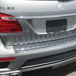 AMG GL63 シート下樹脂パネルの擦り傷補修