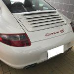 ポルシェ 911カレラ4S シートの色落ち補修