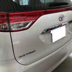 トヨタ エスティマ ダッシュボードの塗装剥がれ補修