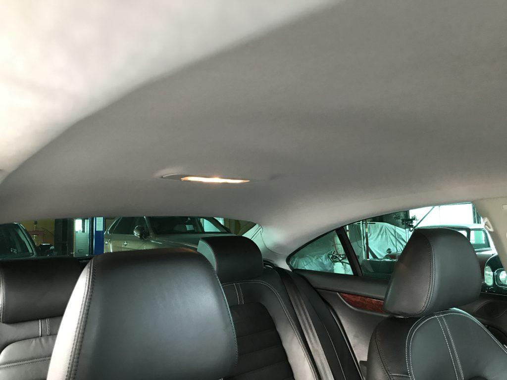 フォルクスワーゲン パサート ルーフライニング(天井)の張替