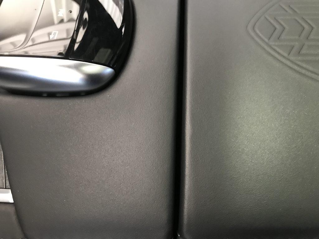 マイバッハ S550 センターコンソールの小傷補修
