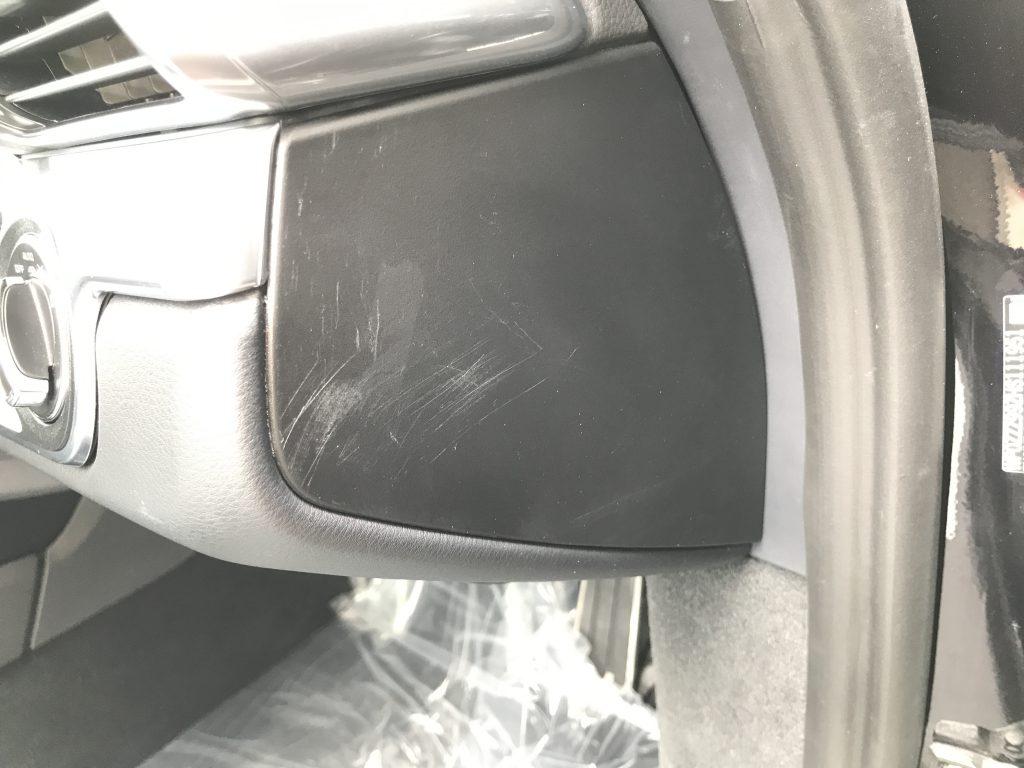 ポルシェ 911カレラ シート、内装の擦り傷補修