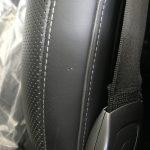 AMG S63 本革シートの色剥がれ、小傷補修