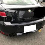 アルファロメオ GT ドアトリム生地張替