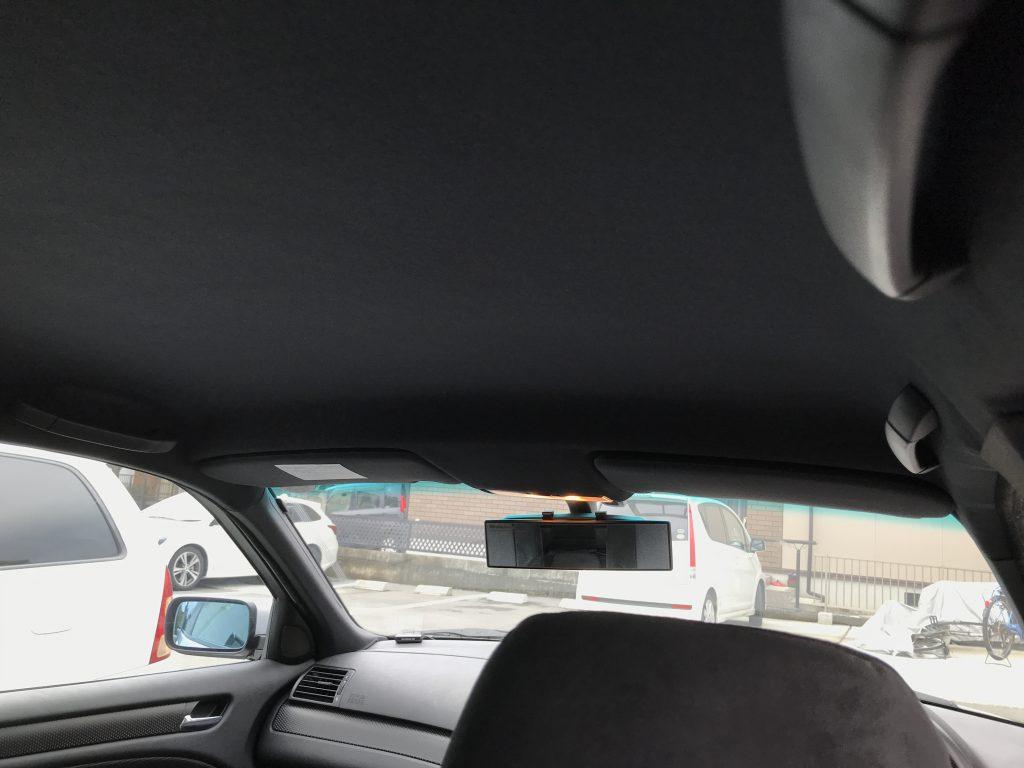 BMW 318i ルーフライニング(天井生地)張替
