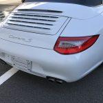ポルシェ 911カレラ ドアトリムポケット部樹脂の色剥がれ補修