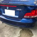 BMW 120i レザーシートの破れ補修