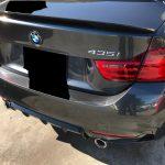 BMW 435i 本革シートとコンソール蓋の色剥がれ補修