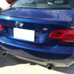 BMW 330i レザーシートの擦り切れ補修