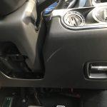 ポルシェ 911カレラ インパネの擦り傷補修