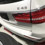 AMG E43 本革シートの擦れ色剥がれ補修