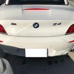 BMW Z4 本革シートの擦り傷補修