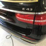 AMG E43 ドアトリムの擦り傷補修