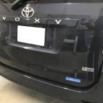 トヨタ ヴォクシー シートの焦げ跡補修