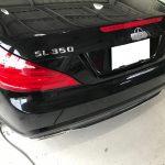 メルセデスベンツ SL350 センターコンソール蓋 開閉故障補修