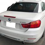BMW 435i シートの切り傷補修