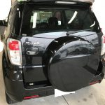 トヨタ ラッシュ シートの擦り切れ補修