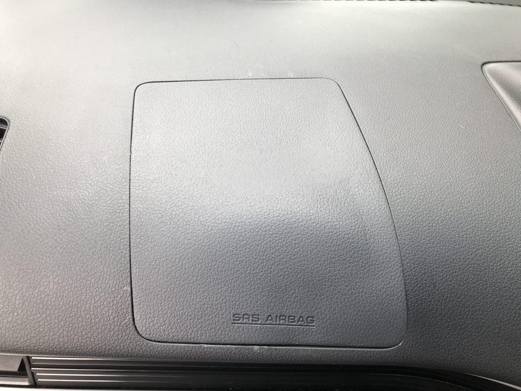 ダイハツ ムーブ 助手席エアバッグ部の割れ補修