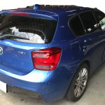 BMW 116i ステアリングの色剥がれ補修