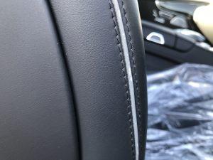 メルセデスベンツ S550 シートの色剥がれ補修