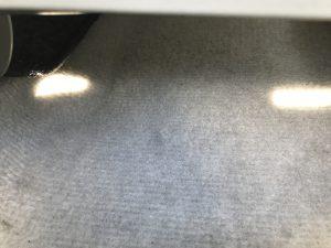トヨタ プリウス シートとフロアカーペットの焦げ穴補修