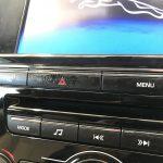 ジャガー XJ オーディオ等スイッチのベタツキ補修