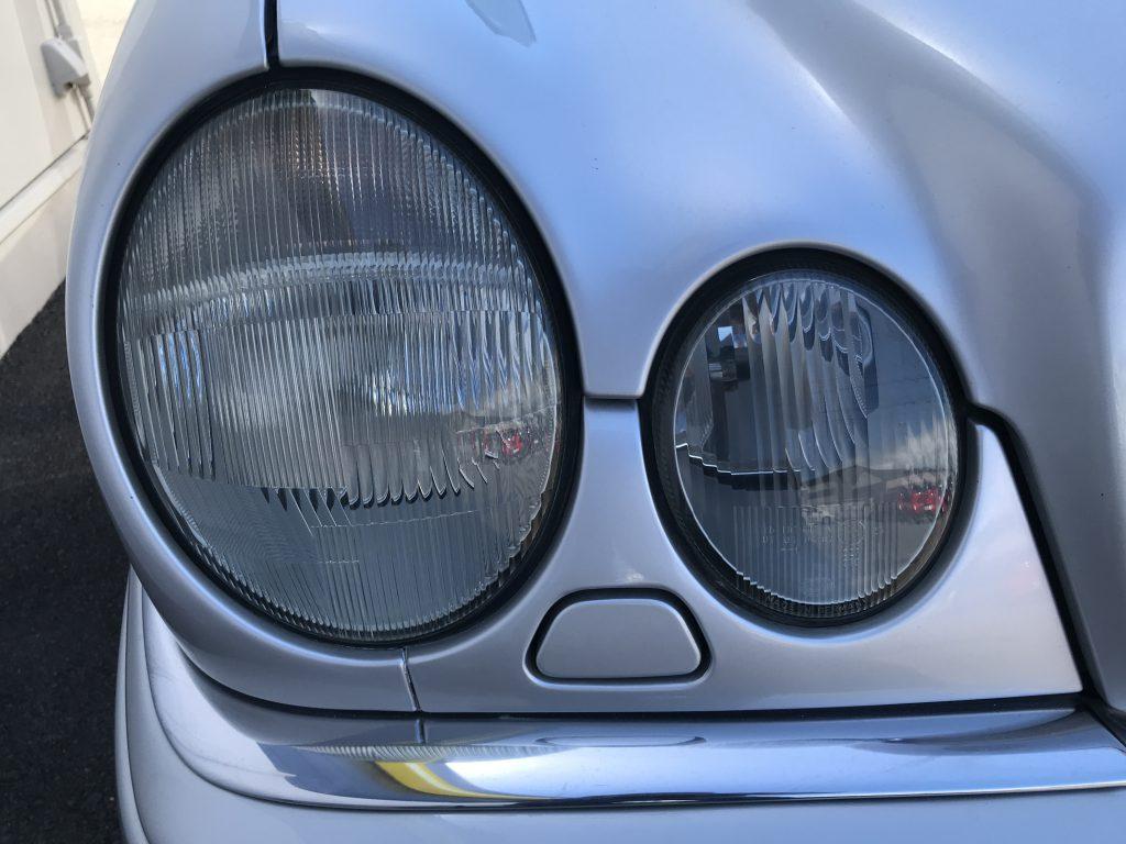 AMG E50 ヘッドライトのクリーニング