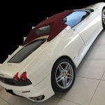 フェラーリ F430 フロアカーペットの焦げ穴補修