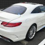 AMG S65 本革シートの色剥がれ補修