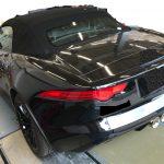 ジャガー Fタイプ 本革シート、ドアトリムの色剥がれ補修