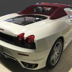 フェラーリ F430 本革シートの色剥がれ補修