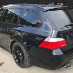 BMW 520i 本革シートの色剝がれ補修