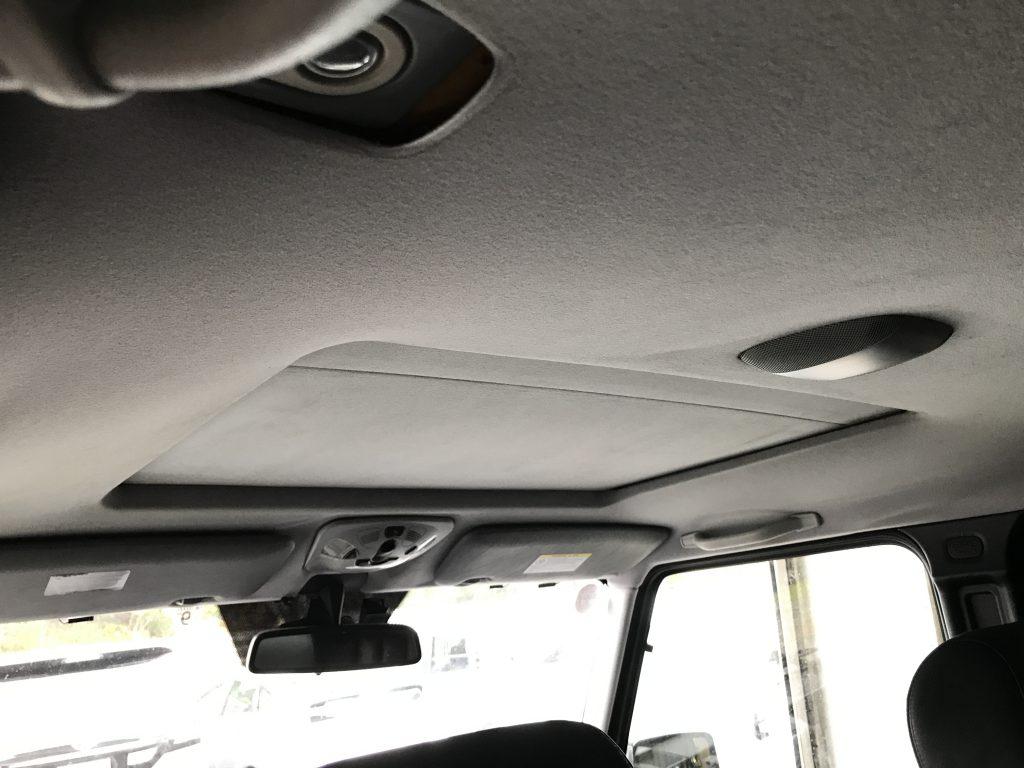 メルセデスベンツ G500 ルーフライニング(天井生地)張替