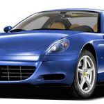 フェラーリ F612 スカリエッティ 本革シートの色剥がれ補修