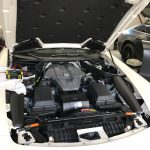 AMG SL63 本革シート(白色系)の擦り傷補修