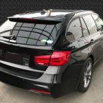 BMW 320i フロアカーペットの焦げ穴補修