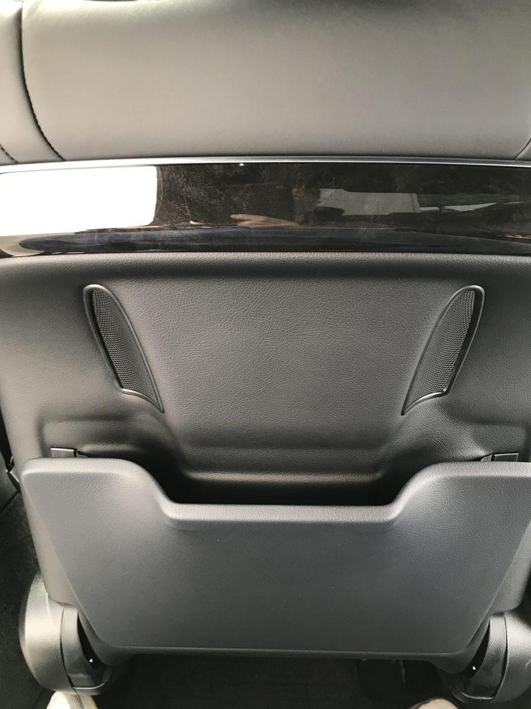 メルセデスベンツ S400 シート背面ポケット補修